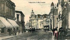 Vista de Valparaíso, Año 1930 Autor o Fotografo: Einar Altschwager ...