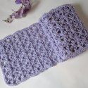 May Scarf of the Month: Mayflower Lace by Crochet is the Way via Saturday Link Party 8 - Rebeckah's Treasures