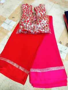 2d satine border georgette saree with stich bloues 1550 Only bloues 850 Order what'sapp 9573737490