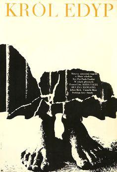 """Bronislaw Zelek  """"KROL EDYP"""", 1969  'Oedipus Rex', 1967  Directed by Pier Paolo Pasolini"""