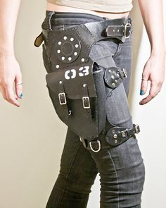 Side Arm Holster by Fig3leather on Etsy