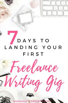 Learn how to get your first writing gig in less than a week. Work at home success starts here.