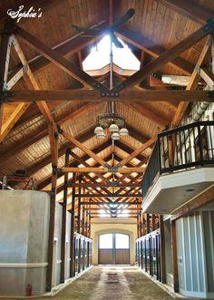 Horse Barn with Loft Apartment | The Denali Barn Apartment 24 ...