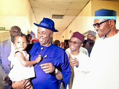 It's Busayolayemi's Blog.. : Primary School Pupils Welcome Buhari In Rivers Sta...
