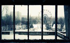 チェルノブイリ原発事故によるゴーストタウン ─ウクライナ、プリピャチ