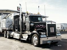 Tricked Out Semi Trucks | Black Cat | Flickr - Photo Sharing!