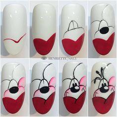 Disney Acrylic Nails, Disney Nails, Cat Nails, Pink Nails, Jolie Nail Art, Natural Nail Designs, Nailart, Animal Nail Art, Nail Art Designs Videos