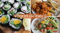 A Week of Vegan Dinners - YouTube