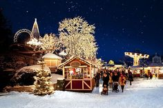 Gothenburg prides itself on its display of lights, with five million used to add festive cheer to the Liseberg Christmas market, Sweden Swedish Christmas, Christmas Town, Scandinavian Christmas, Christmas Wishes, Christmas Photos, All Things Christmas, Christmas Stage, Christmas Scenery, Outdoor Christmas
