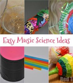 Find out how can you see sound more music science experiments for kids of all ages. Make a tin, can drum, straw flute and more music crafts and activities Science Activities For Kids, Music Activities, Science Experiments Kids, Science Lessons, Music Lessons, Stem Activities, Science Projects, Science Ideas, Sound Science