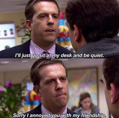 Andy from The Office Quotes Office Memes, Office Quotes, Movie Quotes, Funny Quotes, The Office Show, It Goes On, Michael Scott, Laugh Out Loud, Funny Texts