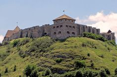 Hilltop fortresses such as Sumeg Castle in western Hungary – were the types of defensive works that King Bela IV commissioned to secure the Kingdom Castle Ruins, Medieval Castle, Danube River, Travel Souvenirs, Central Europe, Hungary, Budapest, Monument Valley, Places To Visit