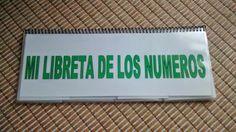 libro con los números