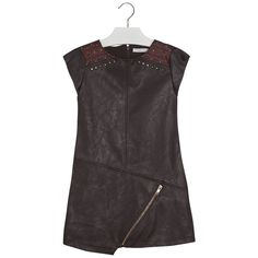 Faux leather dress Browns - Mayoral