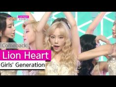 [Comeback Stage] Girls' Generation - Lion Heart, 소녀시대 - 라이온 하트 Show Music core 20150822 - YouTube