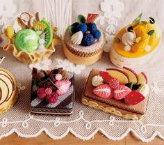 フェルトケーキ / FELISSIMO - 関心空間 : 見ているだけでワクワク♪フェルトで作るケーキ【画像集】 - NAVER まとめ