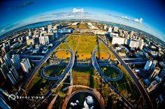 Esplanada | Brasília Vista do Céu