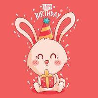 Wild Birthday, 80 Best Free Graphics on Freepik Happy Birthday Best Wishes, Happy Birthday Video, Birthday Songs, Happy Birthday Messages, Animal Birthday, Your Boyfriend, How To Draw Hands, Animals, Vector Freepik