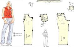 """COME SEW LUTTERLOH WITH ME: """"Reading"""" the Lutterloh Fashion Drawings"""