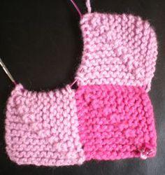 Aprenda a fazer os quadrados perfeitos para mantas sem costuras!