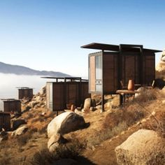 Set on the mountains of Mexico's Valle de Guadalupe, these 20 stunning ecolofts were sustainably designed by San Diego-based Gracia Studio.