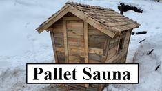 Diy Outdoor Bar, Outdoor Sauna, Outdoor Living, Rv Living, Mobile Sauna, Building A Sauna, Diy Sauna, Sauna Ideas, Saunas