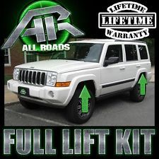 jeep storage ideas jeep commander accessory canvasback jeep 2006 2010 jeep xk commander 3 front 2 5 rear full lift kit