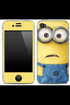Despicable Me minion phone case I want
