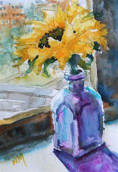 """miss you"" - Original Fine Art for Sale - © Nora MacPhail"