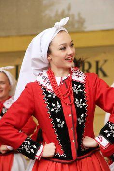 Region of Kraków East. Polish Folk Costumes / Polskie stroje ludowe