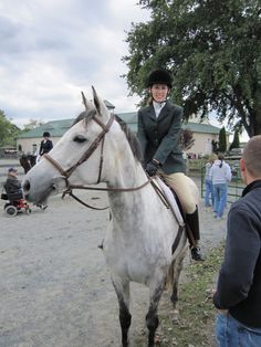 OTTB Stories: Remembering Misty's First Show