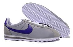 super popular 7747a f70db Nike Classic Cortez Nylon Women Deep Gray Purple Shoes Nike Shoes For Sale,  Running Shoes