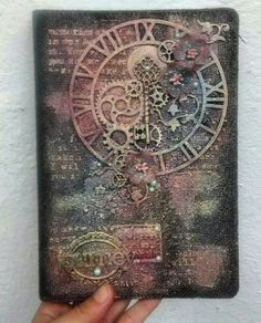 Textured Canvas Art Mixed Media Journal Covers Ideas For 2019 Textured Canvas Art, Mixed Media Canvas, Mixed Media Art, Mixed Media Techniques, Mixed Media Tutorials, Altered Canvas, Altered Art, Mix Media, Mixed Media Journal