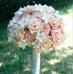 my bridal bouquet design by Multiflor in DC #CleverFlowers