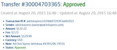 My 75 Paying Proof at ACX. AdClickXpress. Official is market leader in online investment and online advertisement industry. You can trust and make money online at   ACX. There are thousands business people online all the time at ACX system. Start with zero money and STILL make money at ACX. It is absolutely possible, because we see thousands of Members doing it every single day. Check it out! Thank You ACX
