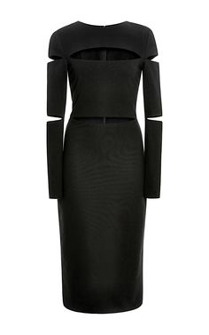 Dondi Jersey Cutout Dress by Cushnie et Ochs - Moda Operandi