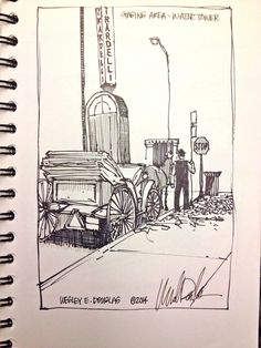 #uskchicago2014 #urbansketching #sketchingworkshop2014