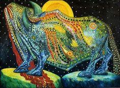 Toro costelado, de Mario Abreu