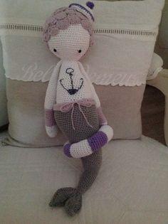 La petite dernière au crochet (Sirène lalylala )