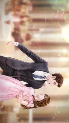 [My Secret Romance] Korean Drama Anime Love Couple, Couple Cartoon, Girl Cartoon, Cartoon Art, Anime Couples Manga, Cute Anime Couples, Korean Art, Korean Drama, Song Ji Eun