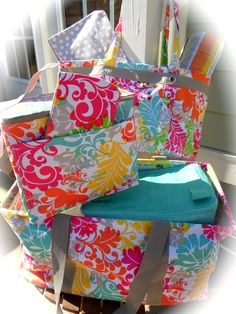 I can't wait to use all of my Island Damask products this summer at the beach!