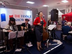 The Sparrows of Paris at The France Show London photo by Howard Leigh