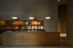 Kolumba Museum, Peter Zumthor, Bookcase, Divider, Shelves, Architecture, Room, Furniture, Design