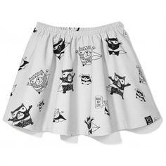 """Kukukid """"SUPERBEAR"""" Skirt"""