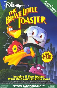 Brave Little Toaster 11x17 Movie Poster (1988)