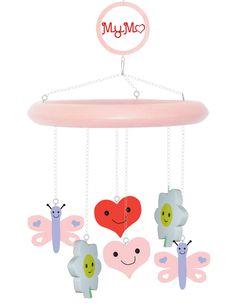 Mymo baby mobile: pink sample