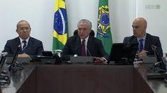 Temer chama massacre em Manaus de