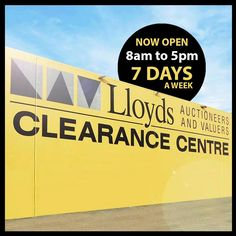 CLOSING TODAY 10 AM- Home Builders & Renovators: http://www.lloydsonline.com.au/AuctionLots.aspx?smode=0&aid=5562&pgn=1&pgs=100 10 AM- Beat The Heat Fan Sale: http://www.lloydsonline.com.au/AuctionLots.aspx?smode=0&aid=5590&pgn=1&pgs=100 2 PM- Appliance, Electronic & Sporting Auction: http://www.lloydsonline.com.au/AuctionLots.aspx?smode=0&aid=5586&pgn=1&pgs=100 2 PM- Super Sunday: http://www.lloydsonline.com.au/AuctionLots.aspx?smode=0&aid=5577&pgn=1&pgs=100 2 PM- Unreserved Entire Hotel…