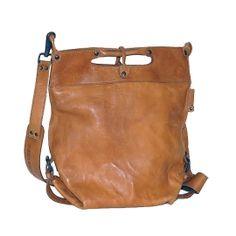 Fab tan leather bag