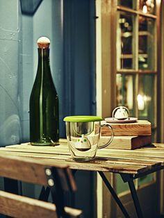 Cana ceai cu infuzor si capac Birdie Red, QDO, Ø cm Picnic, Basket, Kitchen, Inspiration, Products, Cuppa Tea, Gift Ideas, Black People, Biblical Inspiration